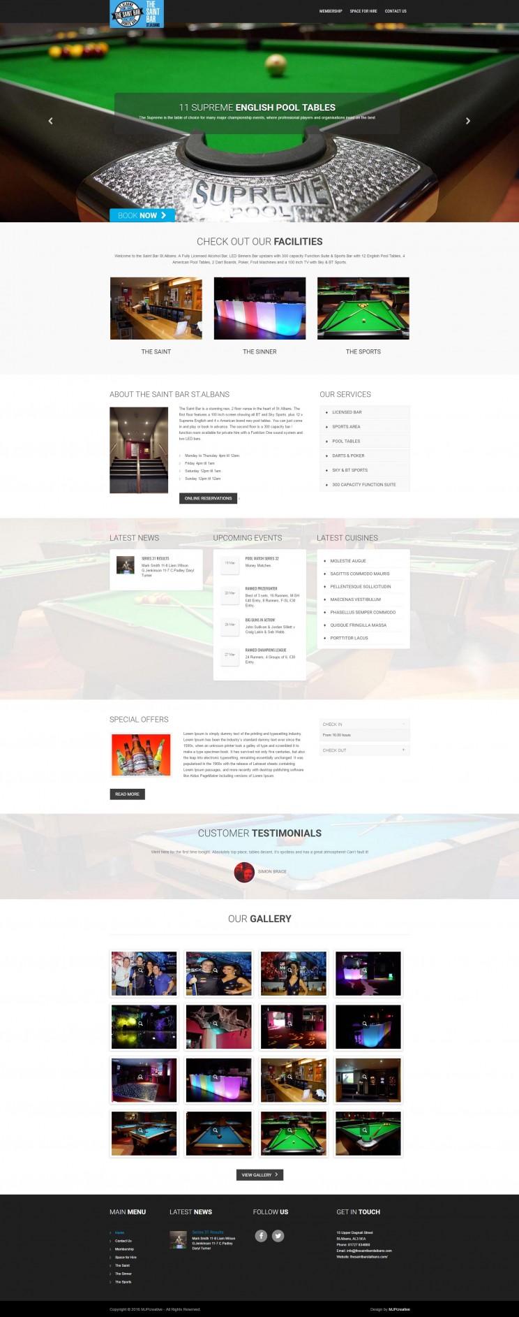 SAINT WEBSITE